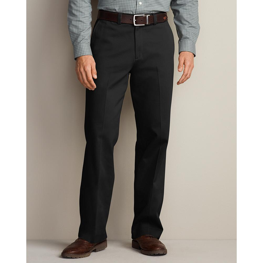 Entertainment Eddie Bauer Relaxed Fit Flat Front Casual Performance Chino Pants - From workday to weekend, you can count on our Casual Performance Chinos to deliver exceptional comfort and style. They're guaranteed to stay true to their color, size, and wrinkle-and stain-resistant performance, wash after wash. And, perhaps best of all, you can wear them right out of the dryer-no ironing necessary. - $54.95