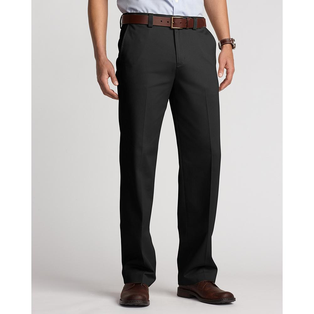 Entertainment Eddie Bauer Relaxed Fit Comfort Waist Flat Front Casual Performance Chino Pants - From workday to weekend, you can count on our Casual Performance Chinos to deliver exceptional comfort and style. They're guaranteed to stay true to their color, size, and wrinkle-and stain-resistant performance, wash after wash. And, perhaps best of all, you can wear them right out of the dryer-no ironing necessary. - $59.95