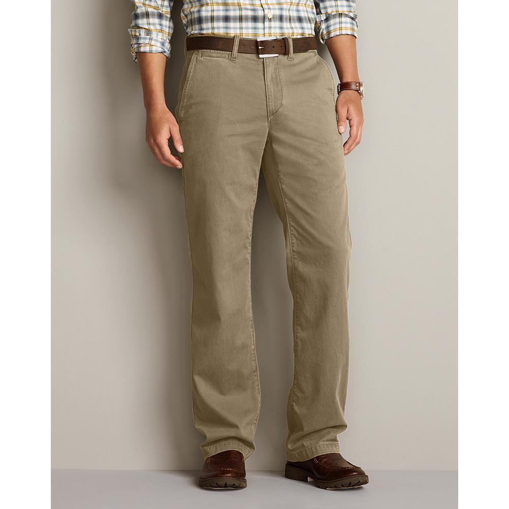 Entertainment Eddie Bauer Classic Fit Legend Wash Chino Pants - These laid-back chinos are made of soft cotton twill and treated with our exclusive Legend Wash for a broken-in look and feel from the first time you put them on. Imported. - $39.99