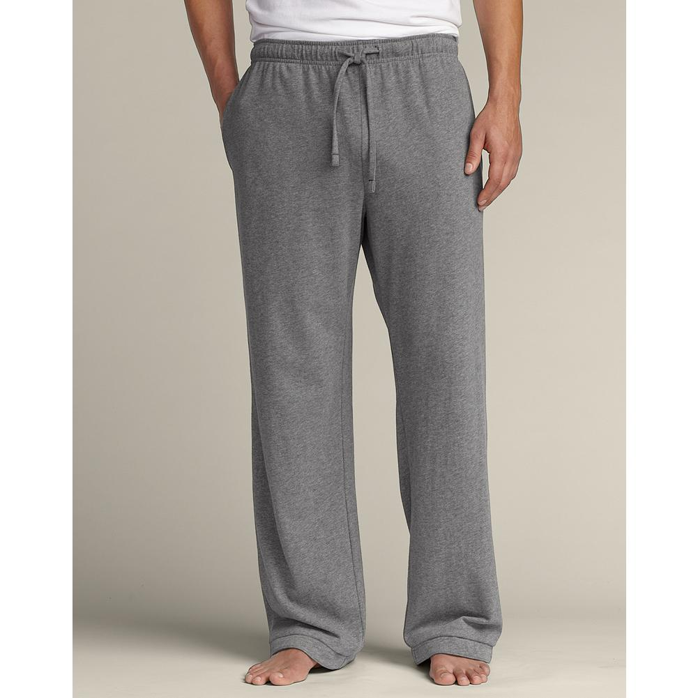 Eddie Bauer Jersey Sleep Pants - Heavyweight sueded cotton jersey is great for year-round wear. Imported. - $39.95