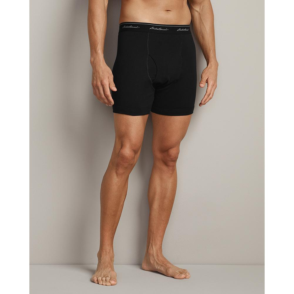 Eddie Bauer Boxer Briefs - Offering superior breathability and support, our Boxer Briefs will become a staple in your day-to-day wardrobe. Constructed with double-stitched seams for durability, they'll hold up to many washings. Imported. - $14.95