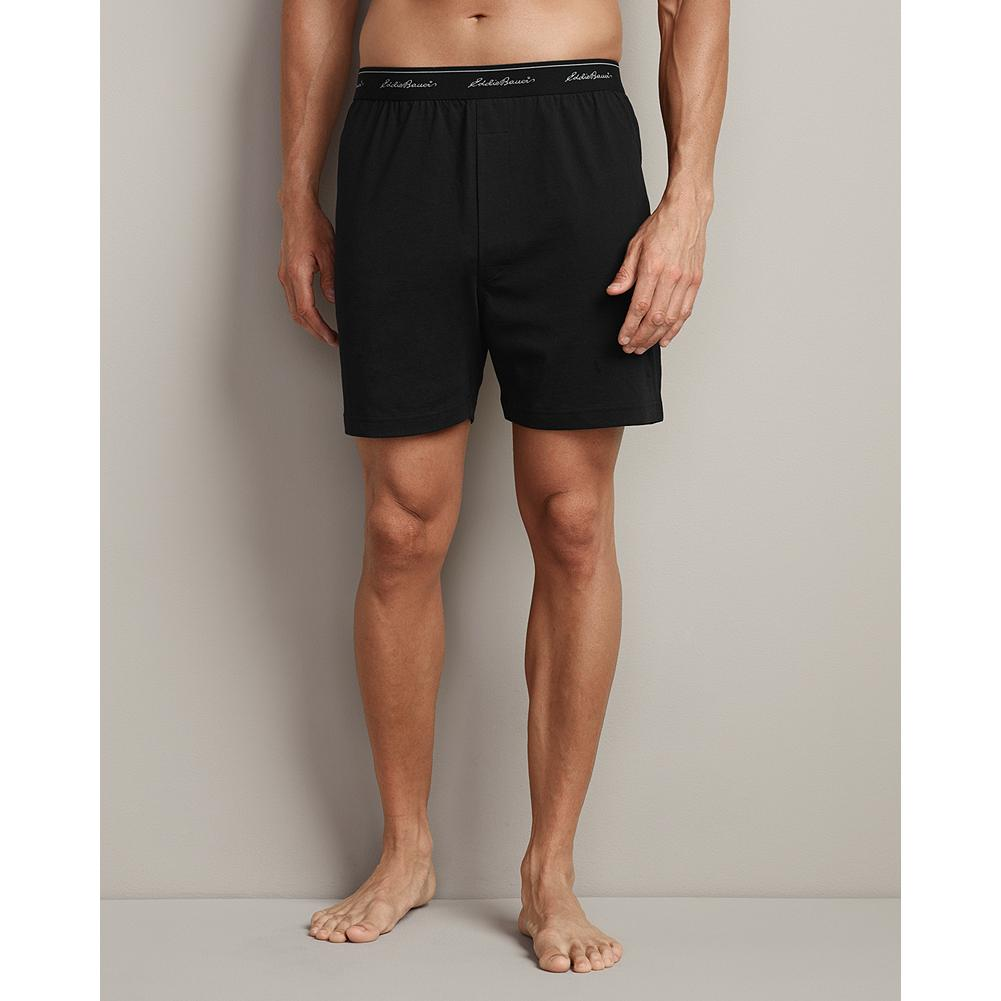 Eddie Bauer Knit Boxers - Constructed with double-stitched seams for durability, these Knit Boxers hold up to many washings and offer excellent breathability and comfort. Imported. - $14.95