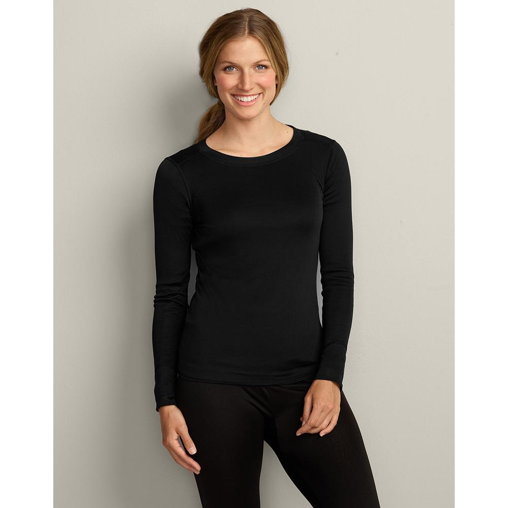 Entertainment Eddie Bauer Silk Underwear Shirt - A whisper-light baselayer, silk is a natural at keeping you warm without any extra bulk. Our silk shirt is a great choice whether pursuing your favorite winter activity or simply for added warmth around town. Imported. - $29.99