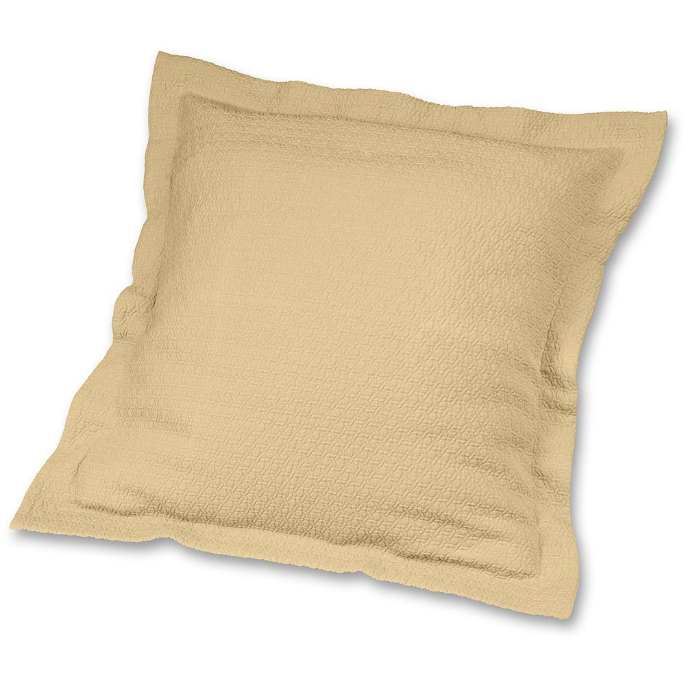 Entertainment Eddie Bauer Cotton Matelasse Sham Pillow - A true bedroom classic, cotton matelasse brings just the right amount of tone and texture to any bedroom. In neutral shades of Cloud or Dune, we've created a look that coordinates comfortably with many of our bedding collections. One each. Imported. - $19.99