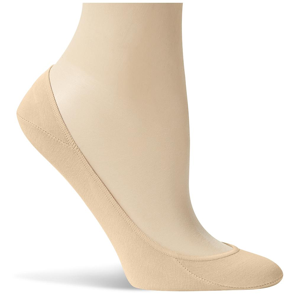 Eddie Bauer No-Show Sock Liner - A lightweight stretch cotton sock that gives you the comfort and support of a sock but thanks to the low profile, you can enjoy a carefree no-sock look. A silicone grippy panel at the heel helps keep these socks in place, and the cotton stretch fabric makes sure it forms to your foot. Imported. - $8.95