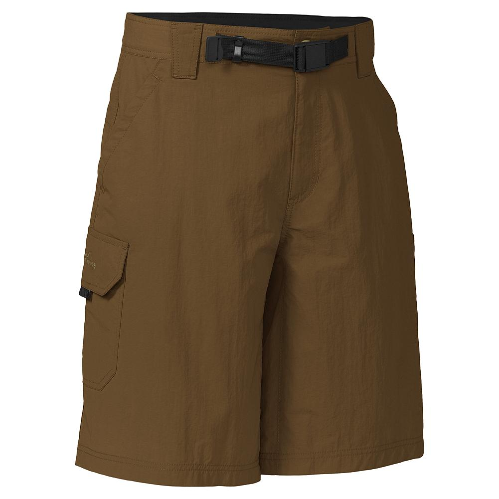 Fitness Eddie Bauer Travex Cargo Shorts - Our Travex Cargo Shorts are made of a fabric that performs under pressure--ideal for trekking, traveling, or just about any outdoor adventure. Front, back, and side pockets give you plenty of places to carry essentials, and the removable belt is there when you need it. - $19.99