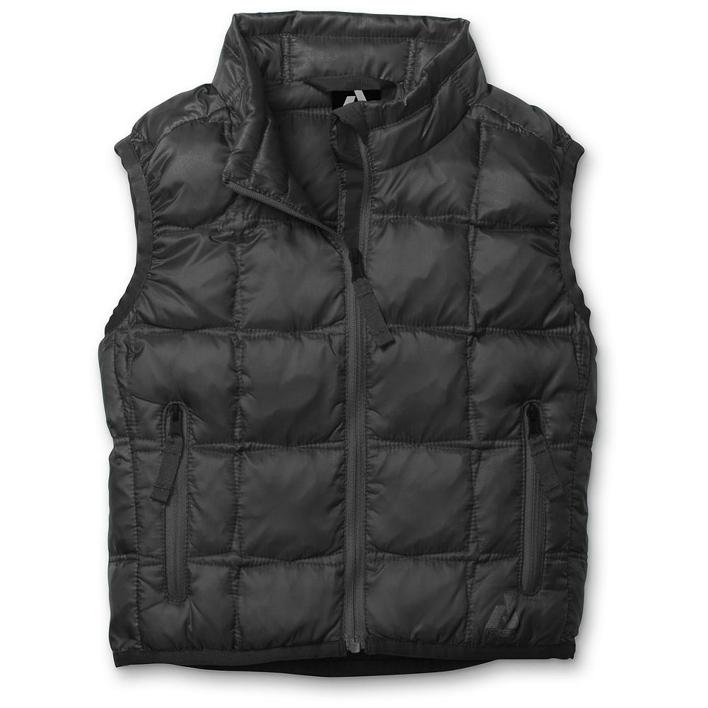 Entertainment Eddie Bauer Toddler Girls' First Ascent Downlight Vest - Mountain Guide in Training(TM) A lightweight layer of water-repellent warmth in cheerful colors she'll love, this tot-sized version of our Downlight vest is made with a durable nylon shell and 600 fill power premium European goose down. Cozy but not bulky, it won't weigh her down during snow play. - $59.95