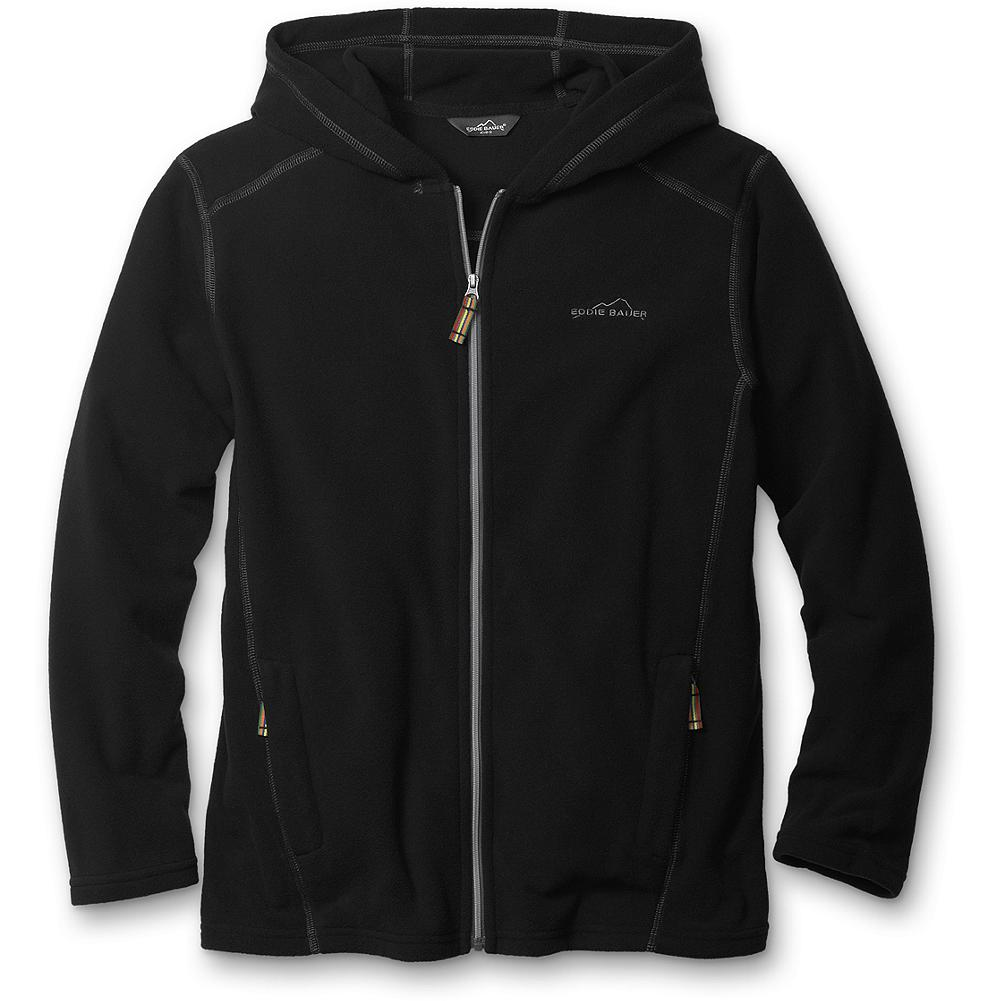 Entertainment Eddie Bauer Boys' Fast Fleece Hoodie - Mountain Guide in Training(TM) Our lightest fleece is 100-weight and is an ideal layering piece for the months ahead. - $19.99