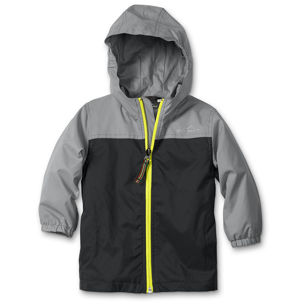 Entertainment Eddie Bauer Toddler Boys' Lined RipPac Wind Jacket - Mountain Guide in Training(TM)  Protect little boys from the elements with our hardworking jacket. Packs down into its own pocket when not in use, so it's easy to keep on hand. - $14.99