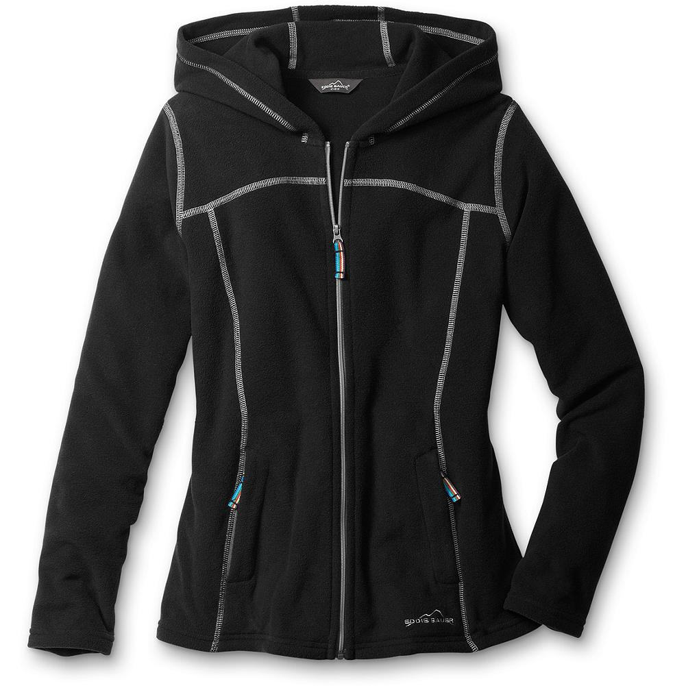 Entertainment Eddie Bauer Girls' Fast Fleece Hoodie - Mountain Guide in Training(TM) Our lightest fleece hoodie is 100-weight and an ideal layering piece for the months ahead. It's supersoft, resists pilling, and has a full zip and a touch of stretch for supreme comfort. Two secure zip pockets. - $19.99