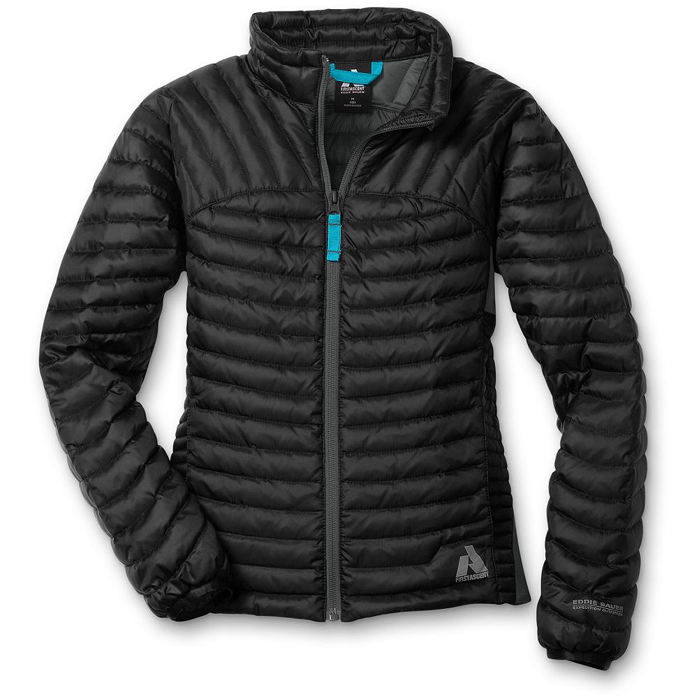 Eddie Bauer Girls' MicroTherm(TM) Down Jacket - Mountain Guide in Training(TM) Our revolutionary, lightweight down layer, sized for girls. 600 fill Premium European Goose Down provides just the right amount of warmth. Packs into its own pocket, so it's easy to keep on hand wherever you go. Two front pockets and stretch side panels for ease of movement. - $39.99
