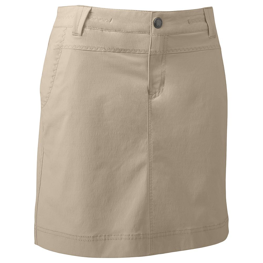 Eddie Bauer Travex Skort - Travex is made for trekking and traveling. Lightweight, packable and perfectly comfortable, it's an easy wear-and-care fabric that keeps you cool and comfy on the go. Fast-drying and moisture-wicking, with a stylish skirt on top and active built-in shorts underneath. Front zip/snap closure. Active fit. Imported. - $39.99