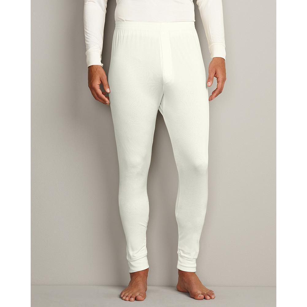 Eddie Bauer Performance Silk Pants - What could feel more luxurious against your skin than pure silk? Especially when it helps maintain your body heat in cold winter conditions. Layers sleekly underneath clothing without adding a bulky appearance. Imported.. - $19.99