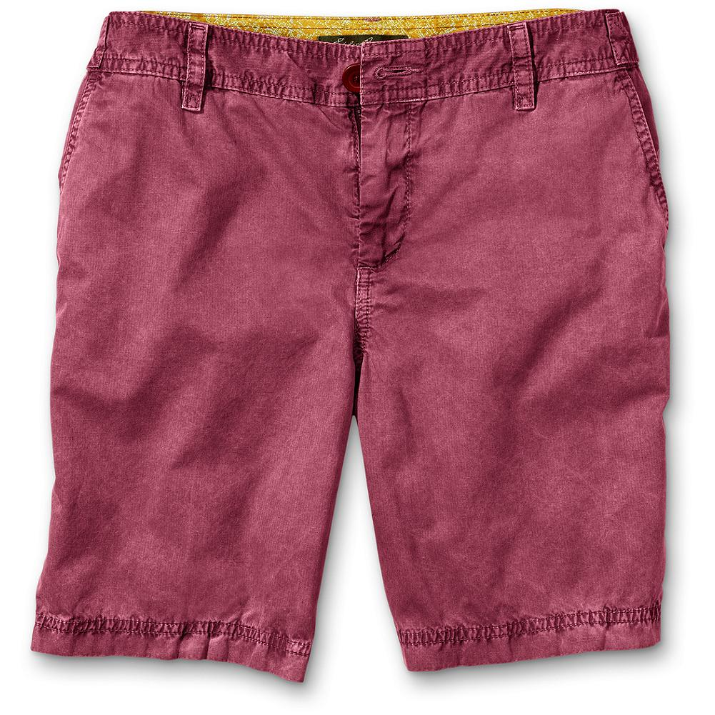 "Eddie Bauer Weekend Fit 7"" Herringbone Pigment Dyed Shorts Shorts - Subtle herringbone pattern in a lightweight cotton suited to summer. Pigment-dyed for a unique washed look. Weekend fit. Inseam: 7"". Imported. - $9.99"