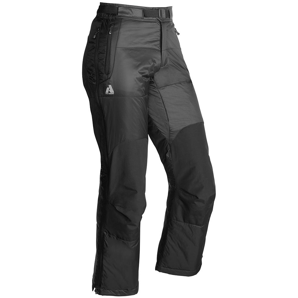 Camp and Hike Eddie Bauer Igniter Insulated Pants - Perfect for staying warm at base camp or for the final summit push on cold days. These pants also excel as extra insulation for cold-weather sports like winter-camping. Two side pockets to store your gear, articulated knees for full range of motion, side zippers for easy on-and-off capability, and 100g of insulation to keep you warm. - $129.99