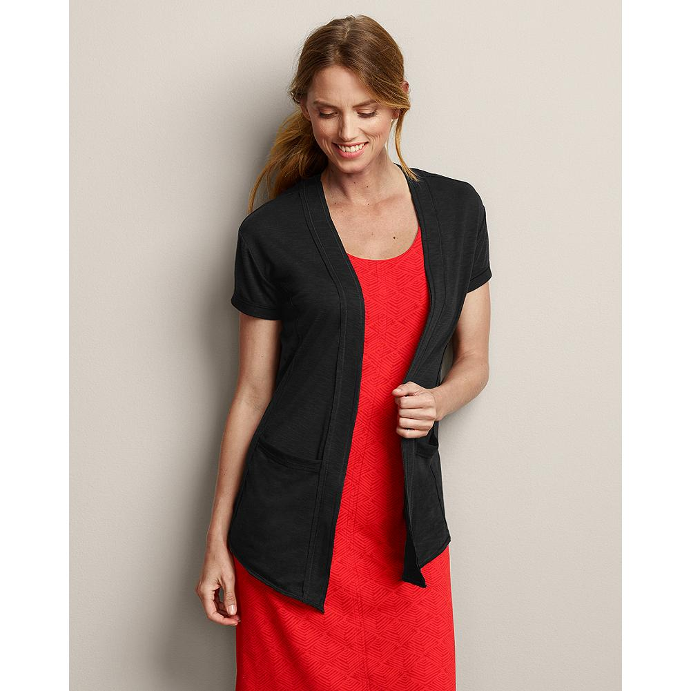 Fitness Eddie Bauer Travex Wrap - Perfect for post-yoga or -gym wear, our Travex wrap is made of an easy wear-and-care fabric that keeps you cool and comfy on the go. It's also packable and wrinkle-resistant, making it a great piece for traveling. - $49.95
