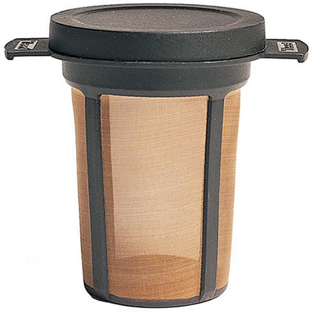 Camp and Hike MSR Mugmate(TM) Coffee/Tea Filter - This convenient and eviro-friendly filter lets you brew a cup of coffee or tea without using wasteful and messy paper filters. The lid holds in heat while steeping and can be used as a base for the filter. Weighs less than an ounce. Imported. - $6.99