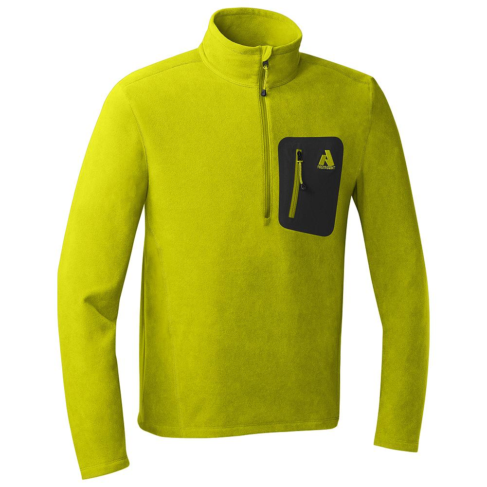 Eddie Bauer Cloud Layer Fleece 1/4-Zip - The lightest, softest alternative to a sweater you'll find. Wear this over a thin baselayer for extra comfort and warmth when you're on the mountain, and throw it over a T-shirt when you're headed out to dinner.               Watch Product Demo - $24.99