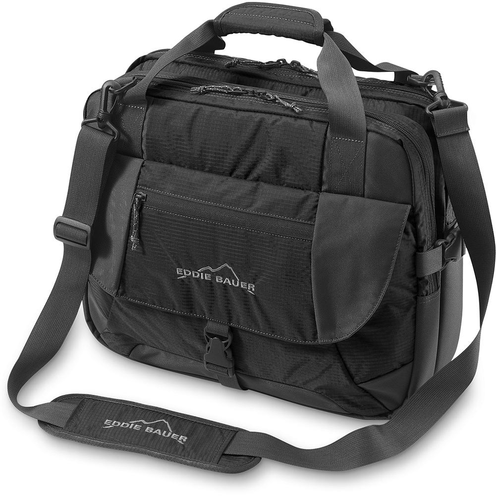 Eddie Bauer Expedition Checkpoint-Friendly Laptop Briefcase - Travel-friendly design lets you leave your laptop inside the briefcase for airport screening. Open and lay briefcase flat for hassle-free scanning and easy travel. - $49.99