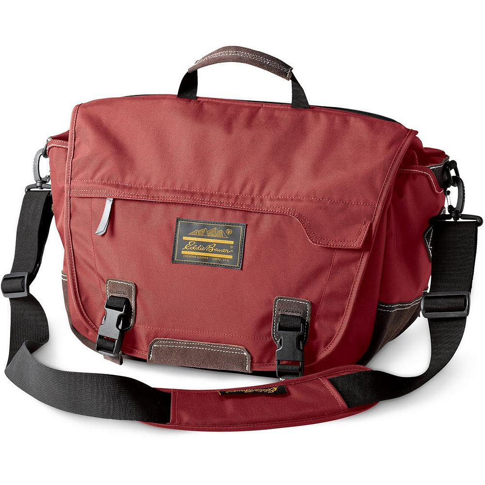 Eddie Bauer Campus Explorer Messenger Bag - Feature-rich and penny-wise, our messenger bag comfortably carries everything you need to make it through the day. Constructed of durable polyester with plenty of organizational features, plus a padded laptop compartment on the back panel of the main compartment. Padded shoulder strap is removable and adjustable. Imported. - $79.95