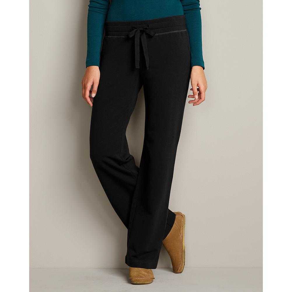 Eddie Bauer Brushed Fleece Pants - A perennial fave-the ultimate all-season, lounge-around pants in cozy, soft brushed fleece. Adjustable drawstring waist. Easy fit. Imported.. - $49.95