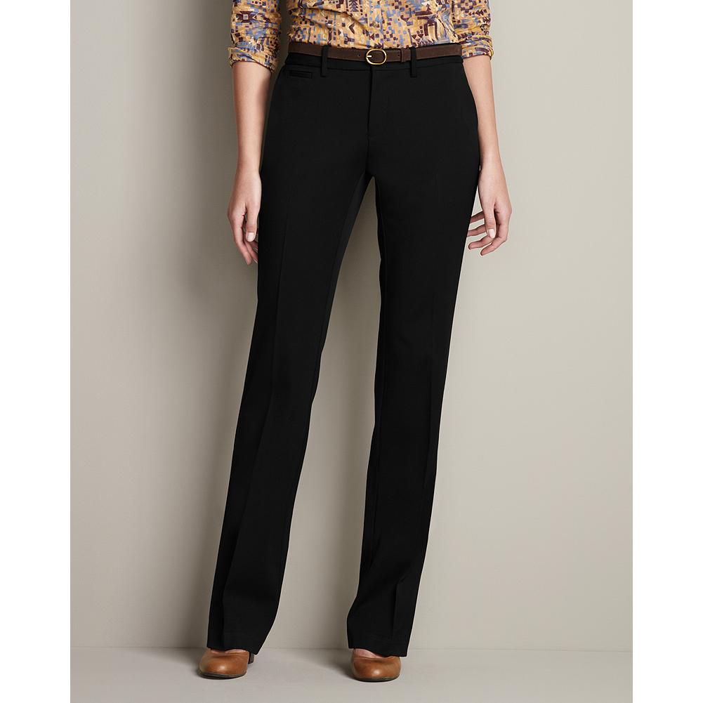 Entertainment Eddie Bauer Curvy Washable Stretch Trousers - Part of our impeccable, washable stretch collection, these trousers are made of a refined, mid-weight fabric that's perfect for any occasion. Smaller waist; mid-rise. Fuller hip and thigh. True hourglass body shape. - $79.95