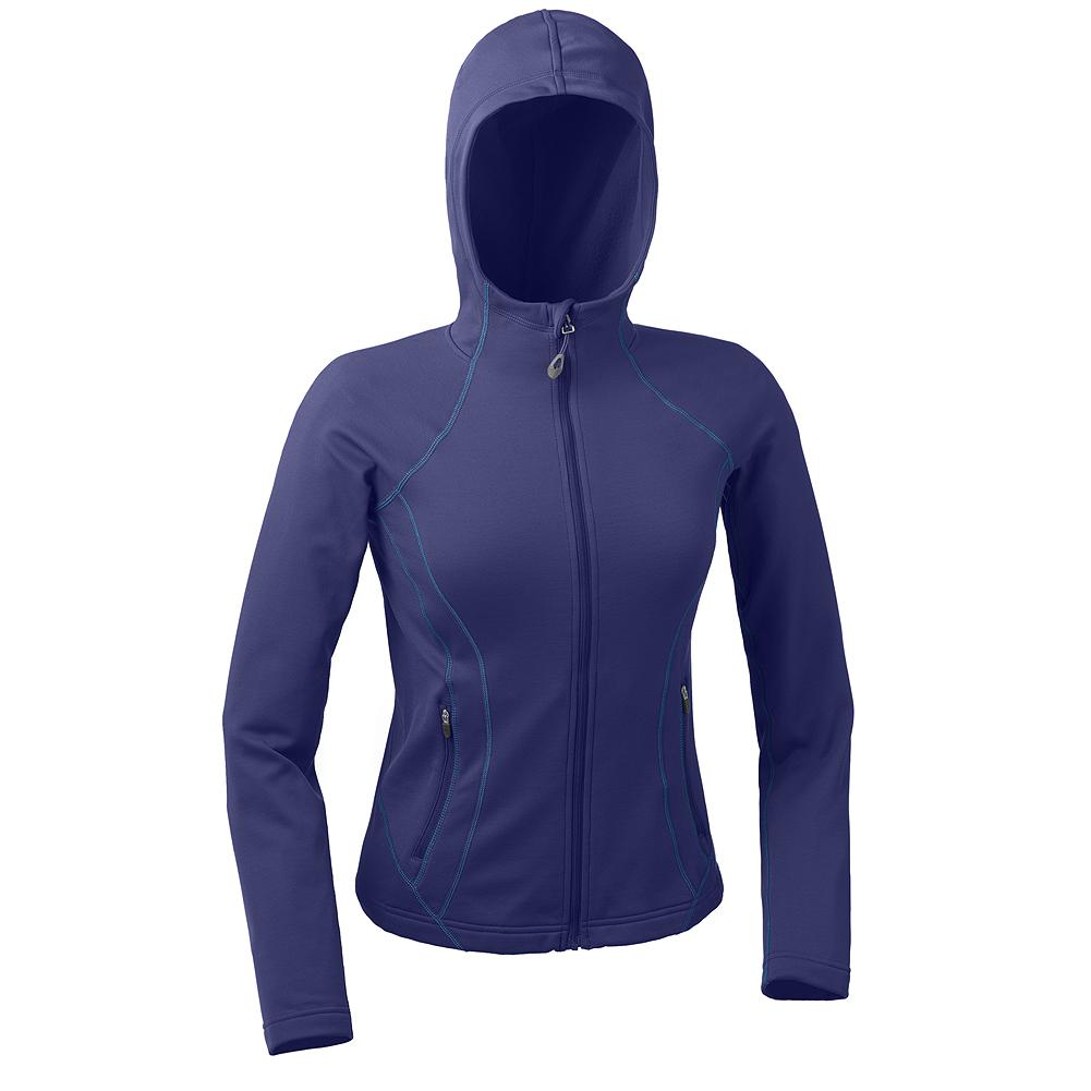 Camp and Hike Eddie Bauer Guide Hoodie - Durable and stretchy, the Guide Hoodie features a smooth outer material face, and a soft fleecy interior for easy layering and fantastic warmth. Secure zip pockets keep valuables from spilling out while hiking, climbing, or traveling. Full coverage hood helps keep out the weather. - $49.99