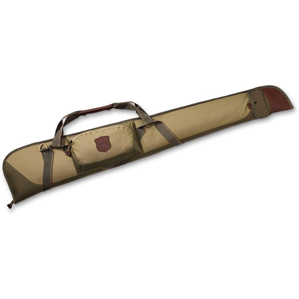 Hunting Eddie Bauer Adventurer Gun Case 48 - Keep your firearm safe and well-protected. Constructed of 500 Denier CORDURA ripstop fabric for durability and padded for consistent shape. Zippered pocket with elastic webbing for choke tubes and external snap sleeve for a cleaning rod.  Imported. - $74.95
