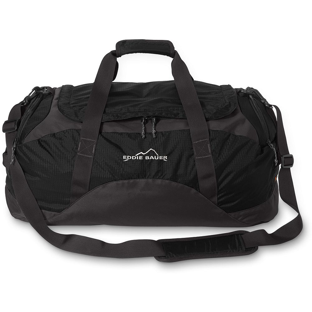 Camp and Hike Eddie Bauer Expedition Medium Duffel Bag - Breaking all compromise. Maximum durability with minimum weight - our duffels are the best you'll find. Ballistic nylon and double ripstop make them practically indestructible yet unbelievably lightweight. Imported. - $44.99