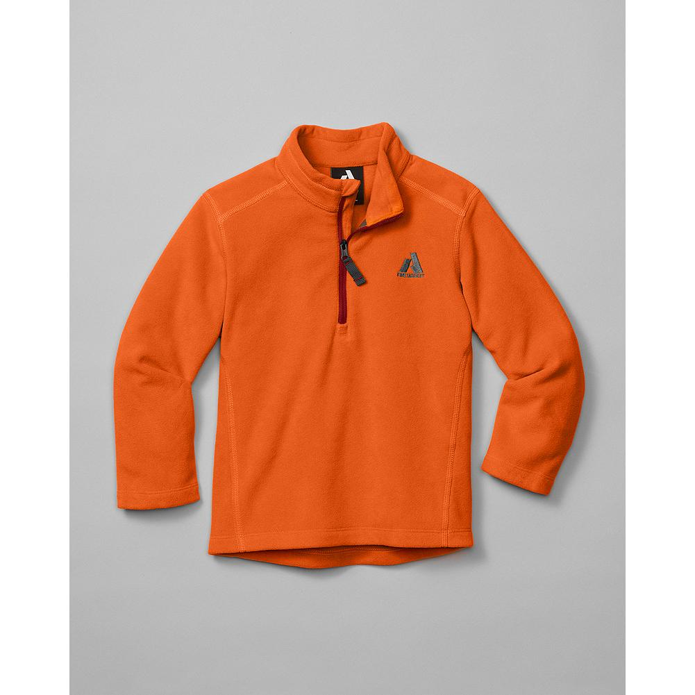 Eddie Bauer Toddler Boys' Cloud Layer Fleece 1/4-Zip - Mountain Guide in Training(TM) Our best-selling Cloud Layer Fleece, sized and styled for tiny mountain guides in training. Soft, lightweight and ideal for layering. - $14.99