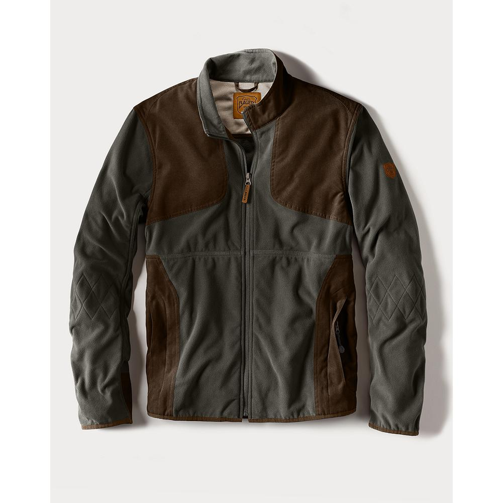 Eddie Bauer Sporting Fleece Jacket - Our 200 weight Cloud Layer fleece. Styled for the field and for the street. Overlay shooting patches and zippered front pockets. Diamond stitch detail at elbow. A great one to layer under a shooting vest to ward off the early-morning chill. Imported. - $89.25