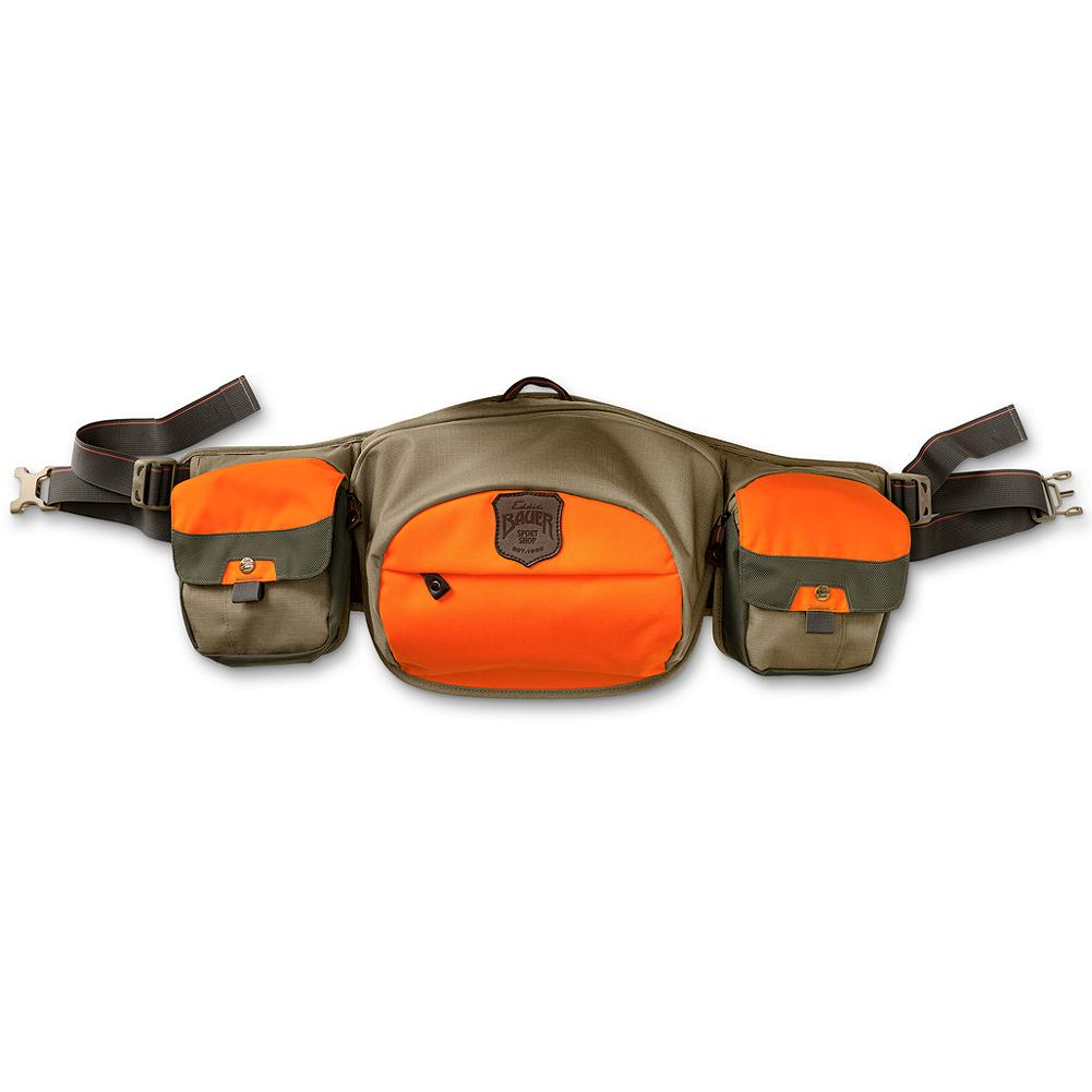 Entertainment Eddie Bauer Adventurer Tech Lumbar Pack - Great for those timber push-throughs, our lumbar pack features a spacer mesh belt for all-day comfort, snap-closure shell pockets and large rear game pocket, all with zippers, plus interior strap adjustment for when the limit overflows. - $99.00
