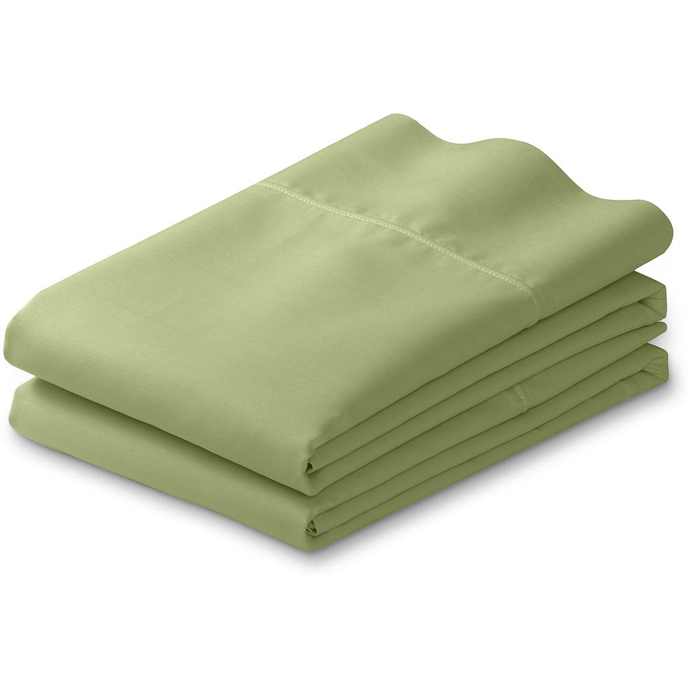 Entertainment Eddie Bauer 200 Thread-Count Egyptian Cotton Percale Pillow Case Set - Our percale pillow cases are made of luxuriously soft, yet remarkably strong Egyptian cotton, ensuring sweet dreams for years to come. - $17.99
