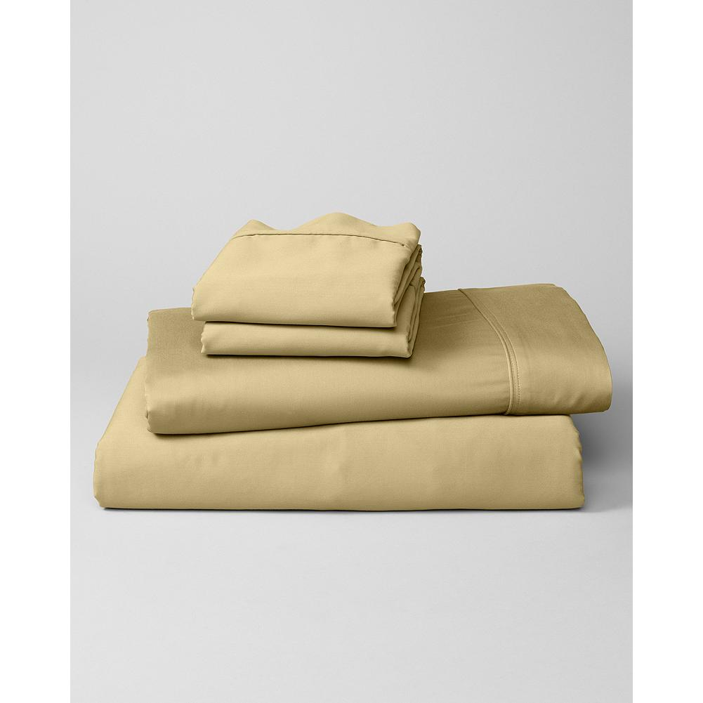 Entertainment Eddie Bauer 400-Thread-Count Cotton Sateen Sheet Sets - Our sateen sheet sets are made with high-quality, 400-thread-count cotton, tightly woven to be stronger and longer lasting than standard sheets. - $29.99