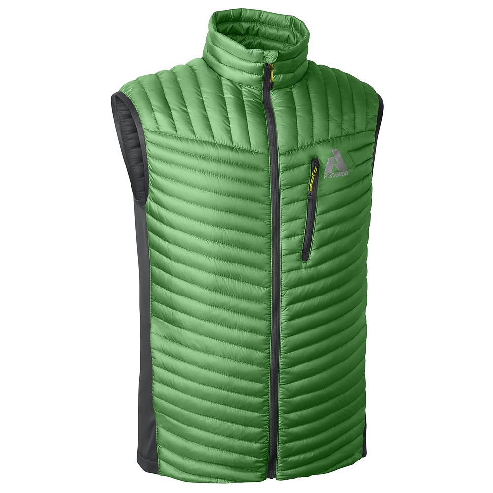 Entertainment Eddie Bauer MicroTherm(TM) Down Vest - An incredibly thin and lightweight vest with all the insulating warmth of 800 fill Premium European Goose Down in a streamlined, non-puffy silhouette. Highly compressible, highly packable. Ideal for use alone or as a back-up layer. Packs into own pocket. Water-repellent and windproof 20-denier ripstop nylon shell with StormRepel DWR finish. - $34.99
