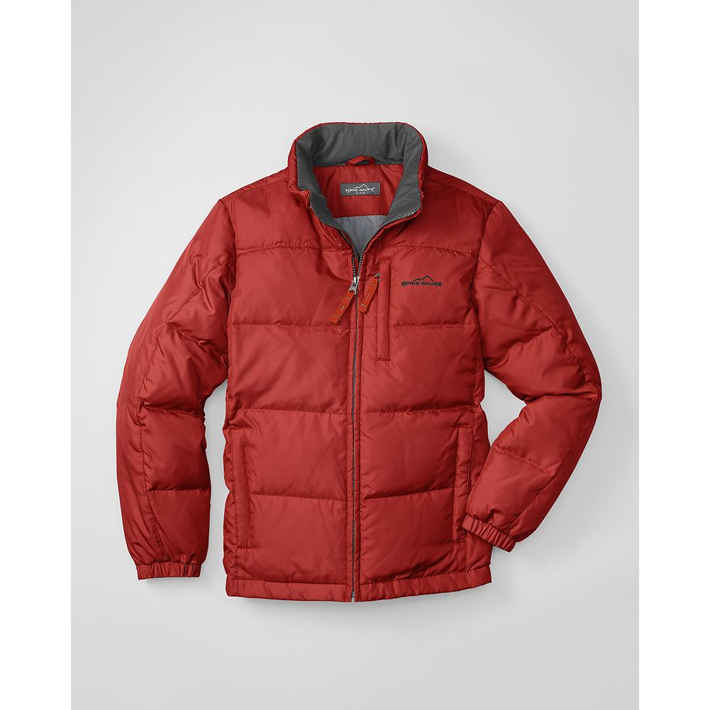 Eddie Bauer Boys' Classic Down Jacket - Mountain Guide in Training(TM) This smaller version of our Classic Down Jacket is insulated with 550 fill Premium European Goose Down to keep active boys warm and comfortable all winter long. - $34.99
