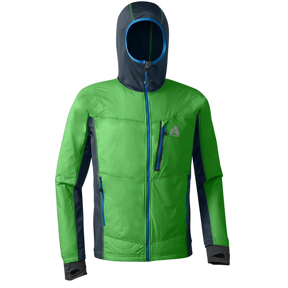 Ski Eddie Bauer Accelerant Jacket - You can wear this multi-functional hybrid ultralight virtually year-round. As an outer layer on an alpine rock route in early summer. As a midlayer on an ice route or ski run in mid winter. Whatever your activity, the Accelerant, with its PrimaLoft One insulation, will keep you warm while breathing exceptionally well so you don't overheat. - $179.00