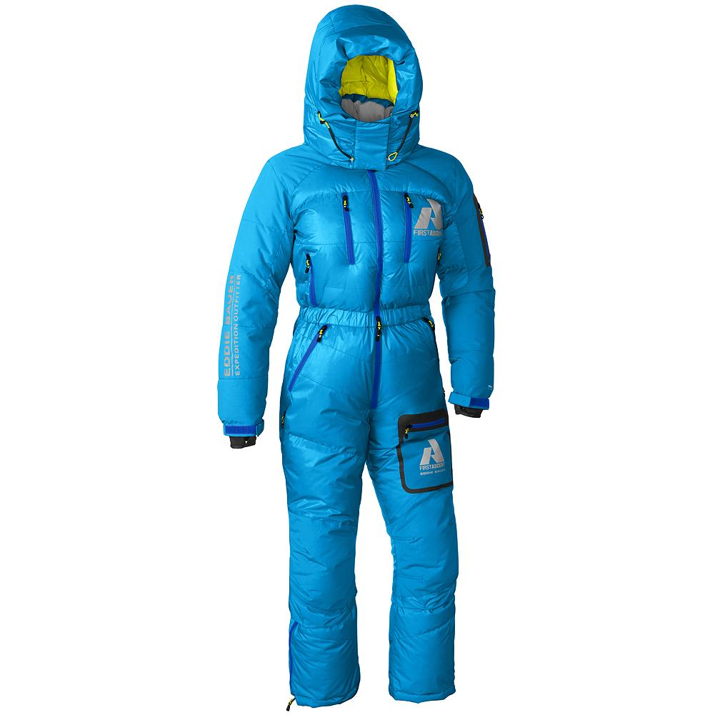 Entertainment Eddie Bauer Peak XV Down Suit - The ultimate protection for the most extreme conditions at the highest altitudes. Our guides have 35 Everest summits among them. This is what they wear on summit day. - $999.00