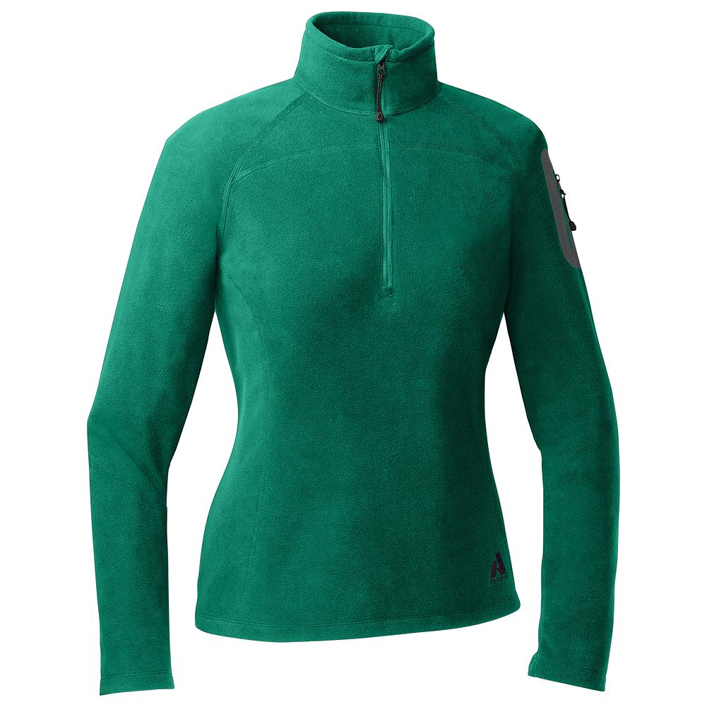 Eddie Bauer Cloud Layer Fleece 1/4-Zip - Our classic Cloud Layer Quarter-Zip Fleece Pullover provides warmth and style, whether you're out in the wild or on the town. Tried-and-true performance fleece fabric feels plush, dries quickly and resists pilling.             Watch Product Demo - $24.99
