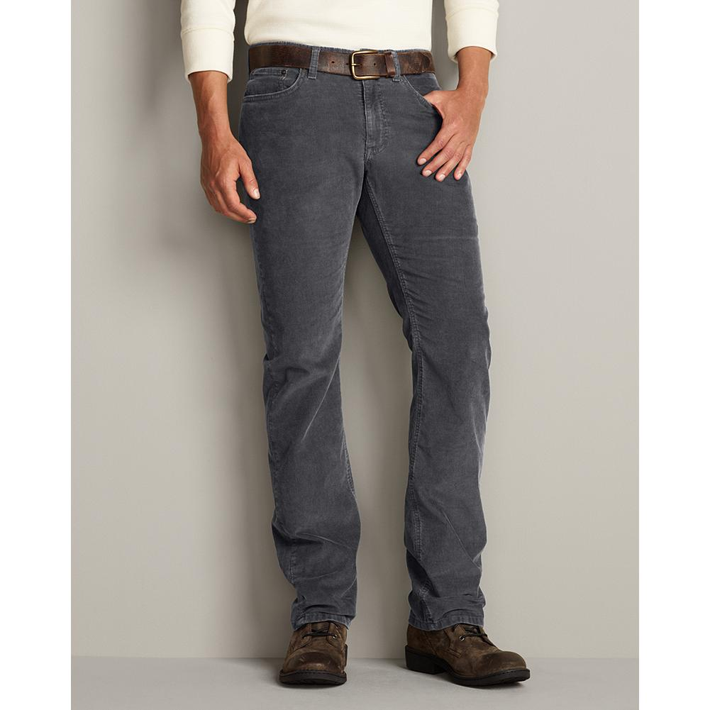 Entertainment Eddie Bauer Straight Fit Field Cord Pants - We prewash the substantial, 14-wale cotton corduroy to give our field pants a broken-in feel and slightly weathered colors. Classic five-pocket construction can be worn casually or with a blazer. - $49.95