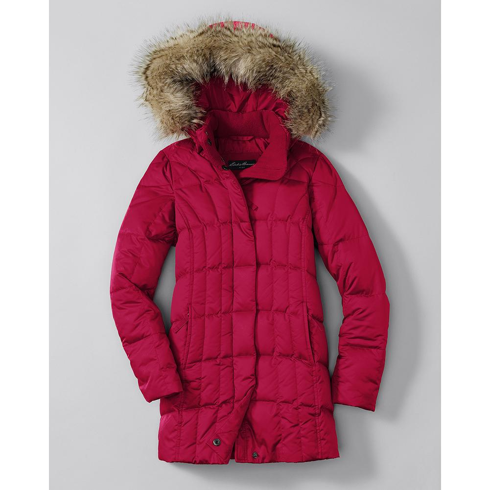 Entertainment Eddie Bauer Girls' Lodge Down Parka - Mountain Guide in Training(TM) This pint-sized version of our best-selling Lodge Parka will keep her warm and cozy all winter long.Storm cuffs. Zip pockets. - $129.00