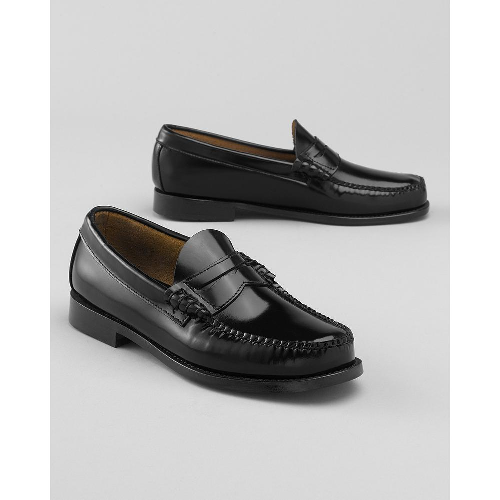 Eddie Bauer Bass Larson Penny Loafers - Bass does a casual twist on the time-honored penny loafer, giving the traditional slip-on even more versatility. - $100.00