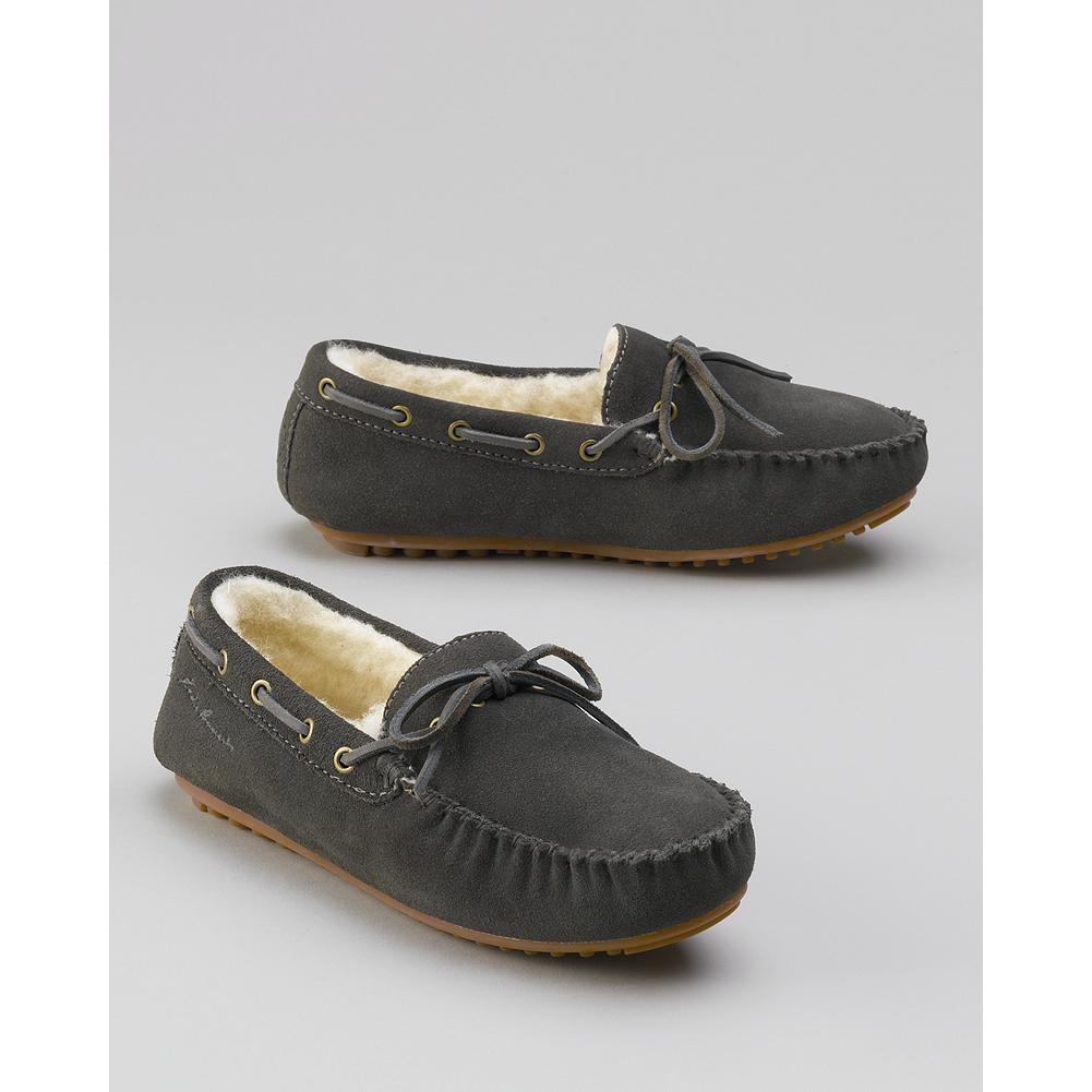 Eddie Bauer Women's Shearling Driving Moccasins - The classic winter mocs, these shearling slippers are durable enough for both indoor and outdoor wear. Imported. Imported. - $79.95