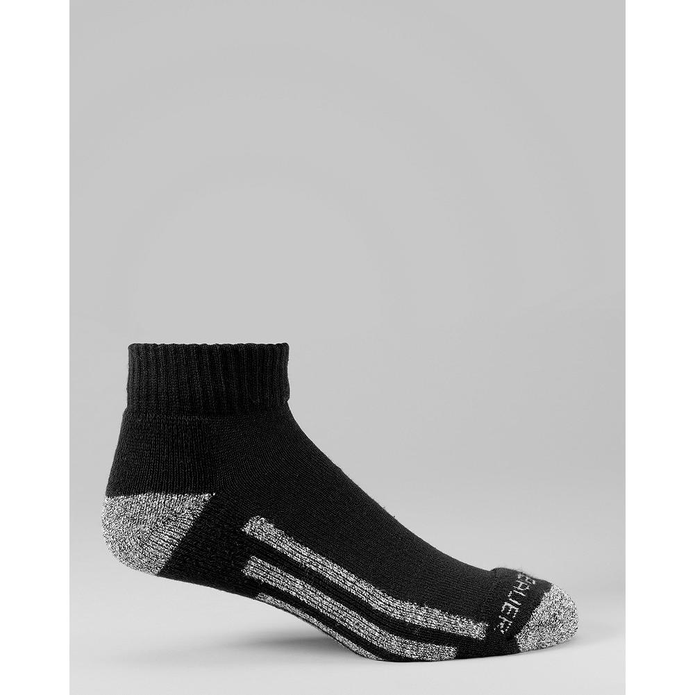 Eddie Bauer Quarter Trail Socks - Moisture-wicking Coolmax helps these low-top athletic socks keep your feet cool and dry during any activity. - $5.99