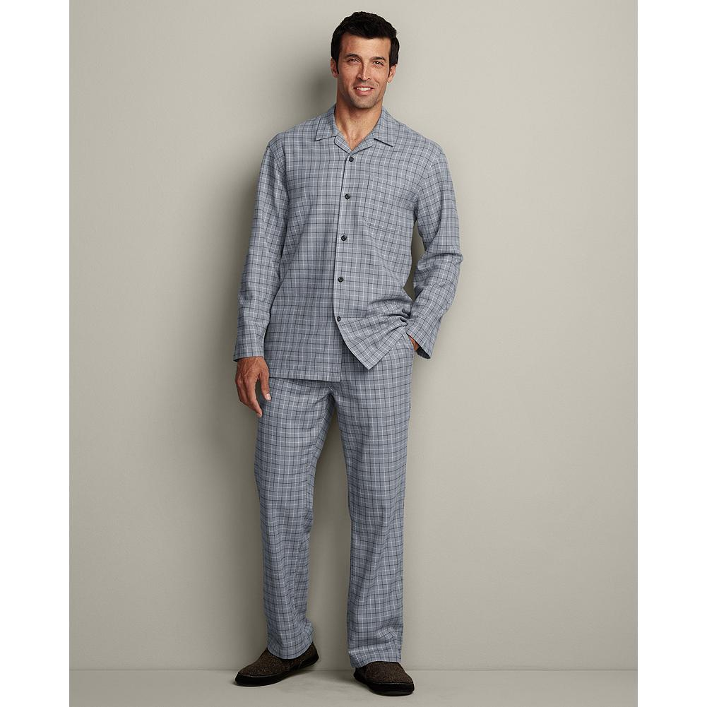 Eddie Bauer Flannel Pajama Set - A traditionally styled pajama set in rich, plush flannel for ultimate relaxation. - $29.99