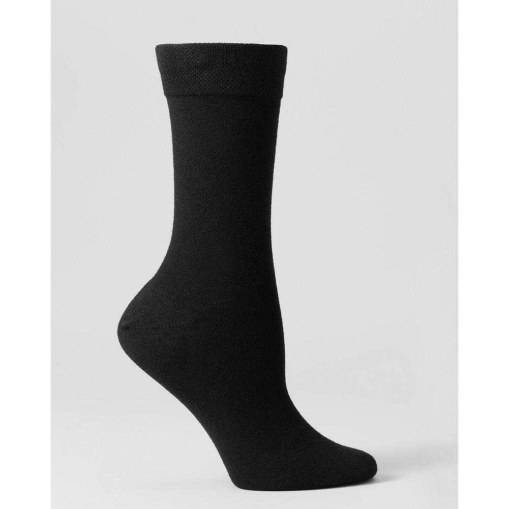 Eddie Bauer Essential Knit Crew Socks - Our essential crew socks are made of a soft rayon blend that holds up to repeated washings. Recently tested by our design and merchandising team members, these socks felt exceptionally smooth and comfortable, resisted snags and stayed put all day. - $8.95