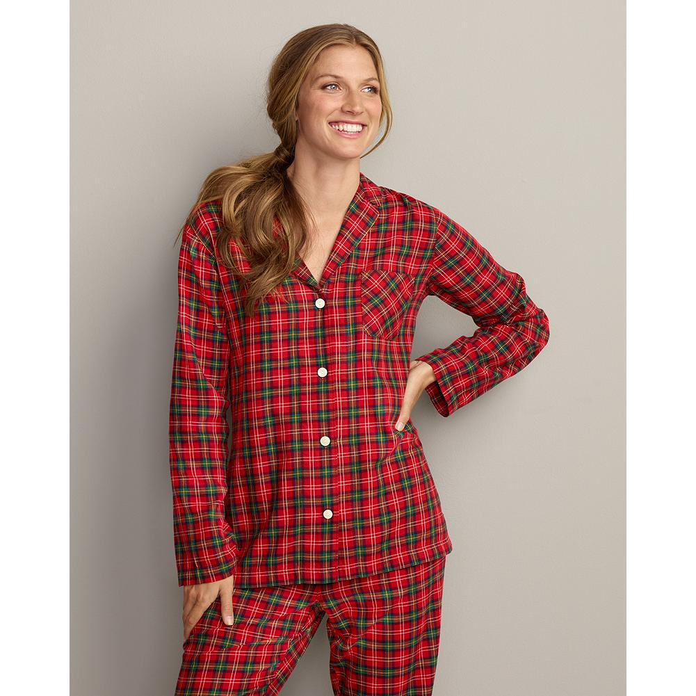 Eddie Bauer Flannel Sleep Shirt - The same ultrasoft, top-quality cotton flannel we use in our best-selling sleep pants, now in coordinating shirts. - $6.99