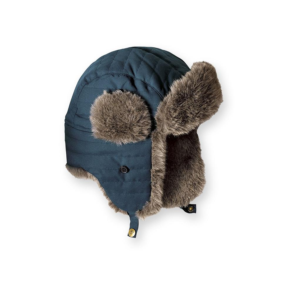 Eddie Bauer Down Aviator Hat - This well-insulated hat features faux-fur trim, a water-repellent polyester shell, and 550 fill Premium European Goose Down. - $9.99