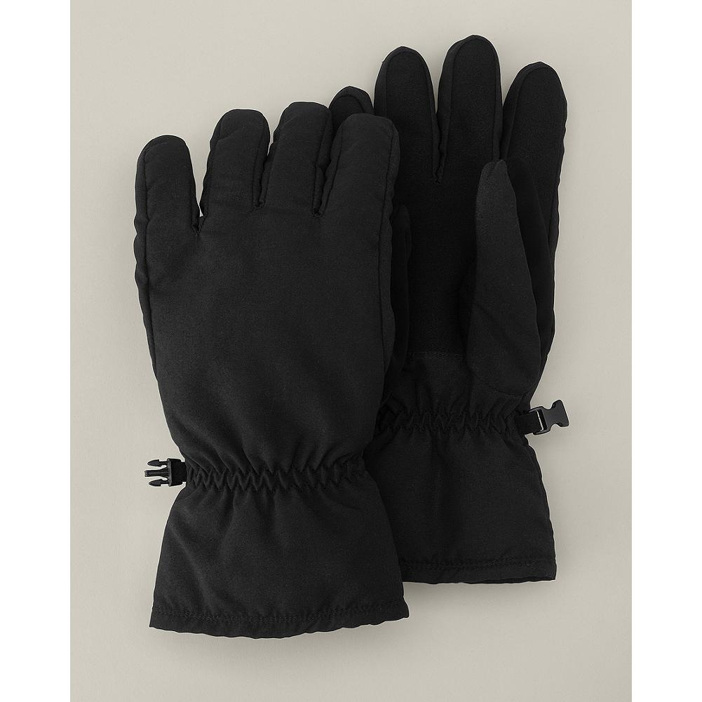 Eddie Bauer Down Gloves - These durable gloves keep your hands warm and dry with a water-repellent polyester shell and cozy goose down insulation. - $9.99