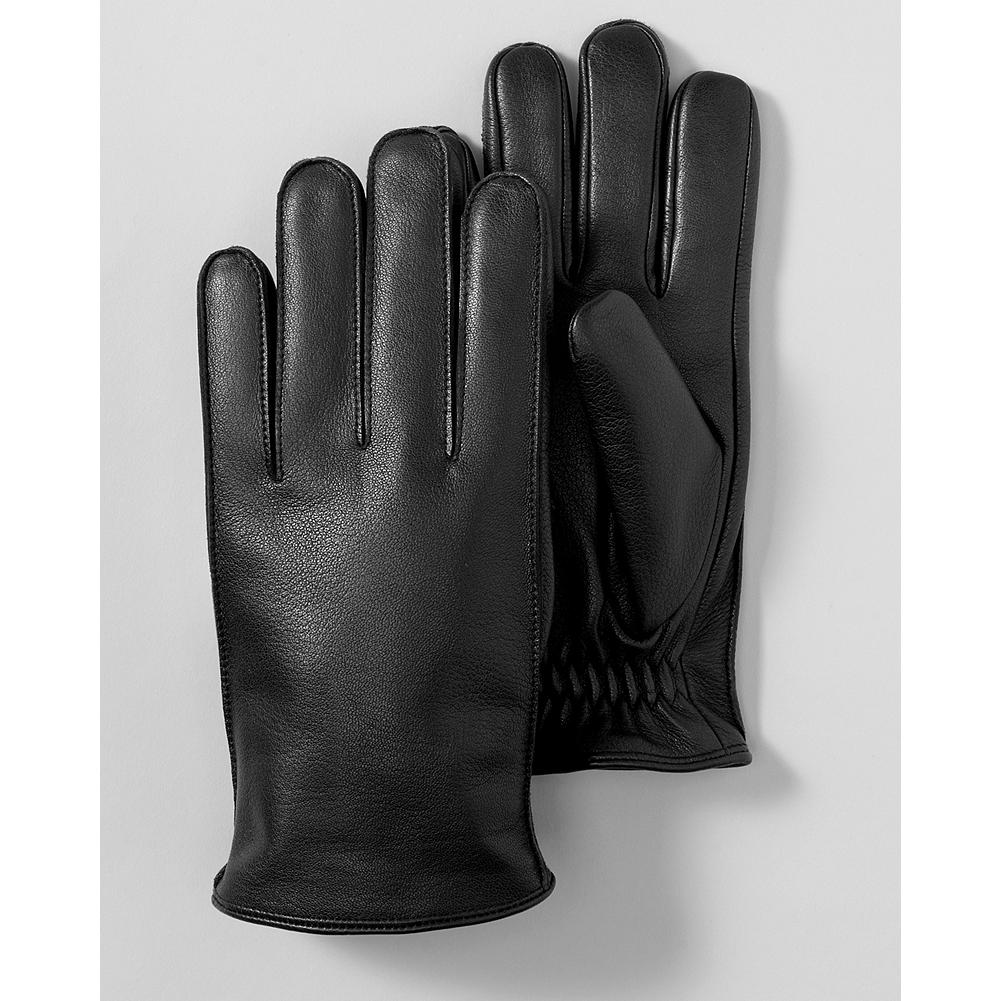 Eddie Bauer Leather Gloves - Seal out the elements with these handsome leather gloves. - $19.99